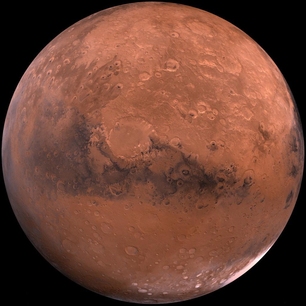 Planète Mars (Wikimédia commons)