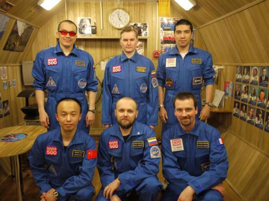 Equipage de la mission Mars 500